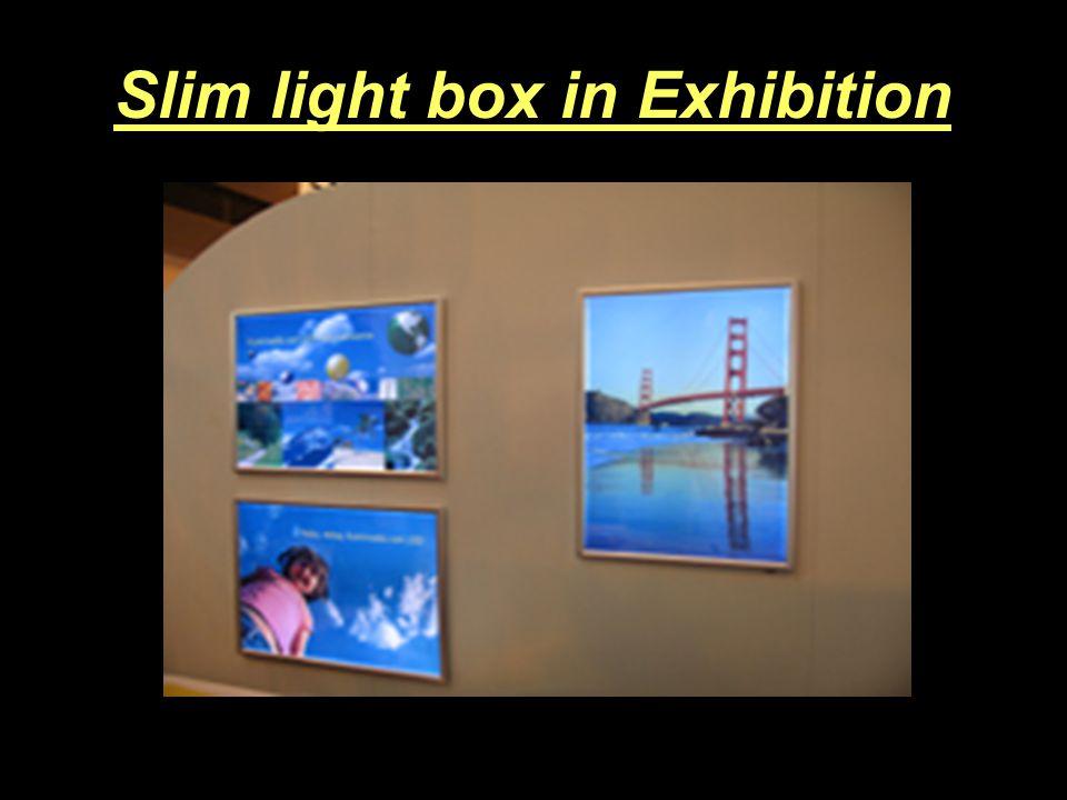 Slim light box indoor Double side Single side