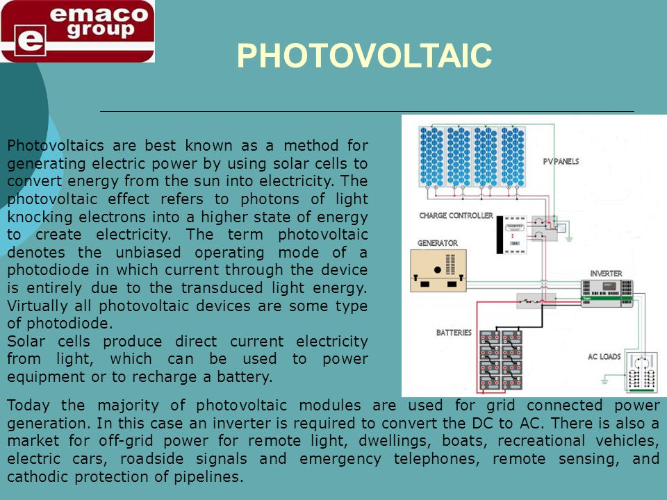 Photovoltaic (PV) cells are the main source for capturing the suns energy and as such, with their carbon dioxide- free, limitless, safe and quiet powe