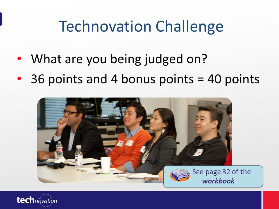 Technovation Challenge What are you being judged on.