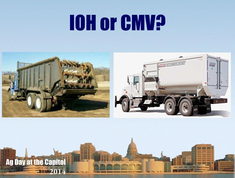 IOH or CMV?