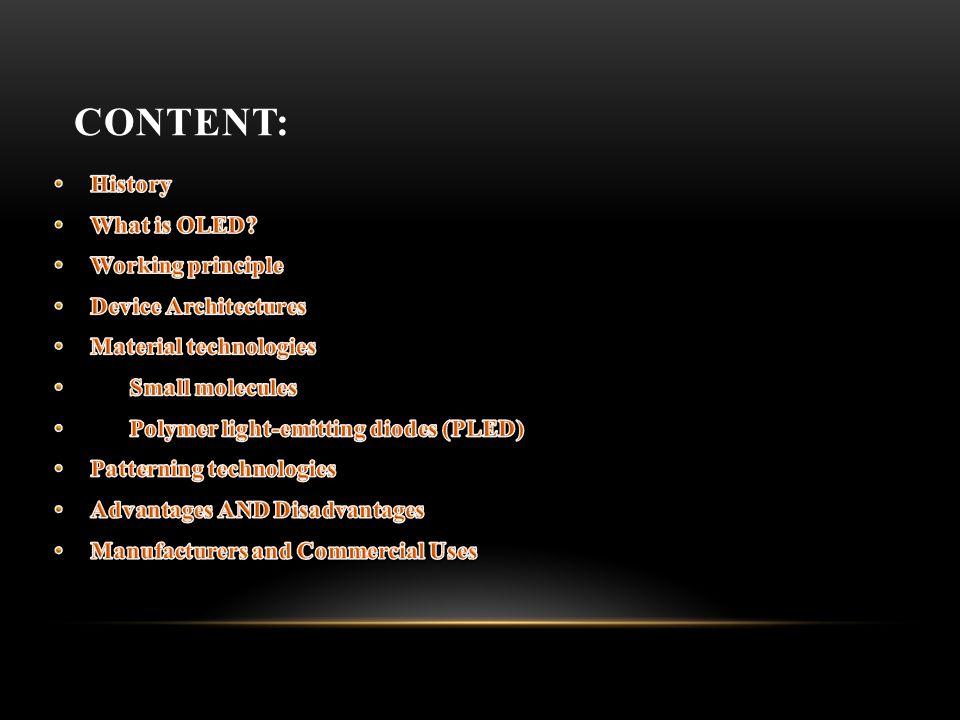 CONTENT: