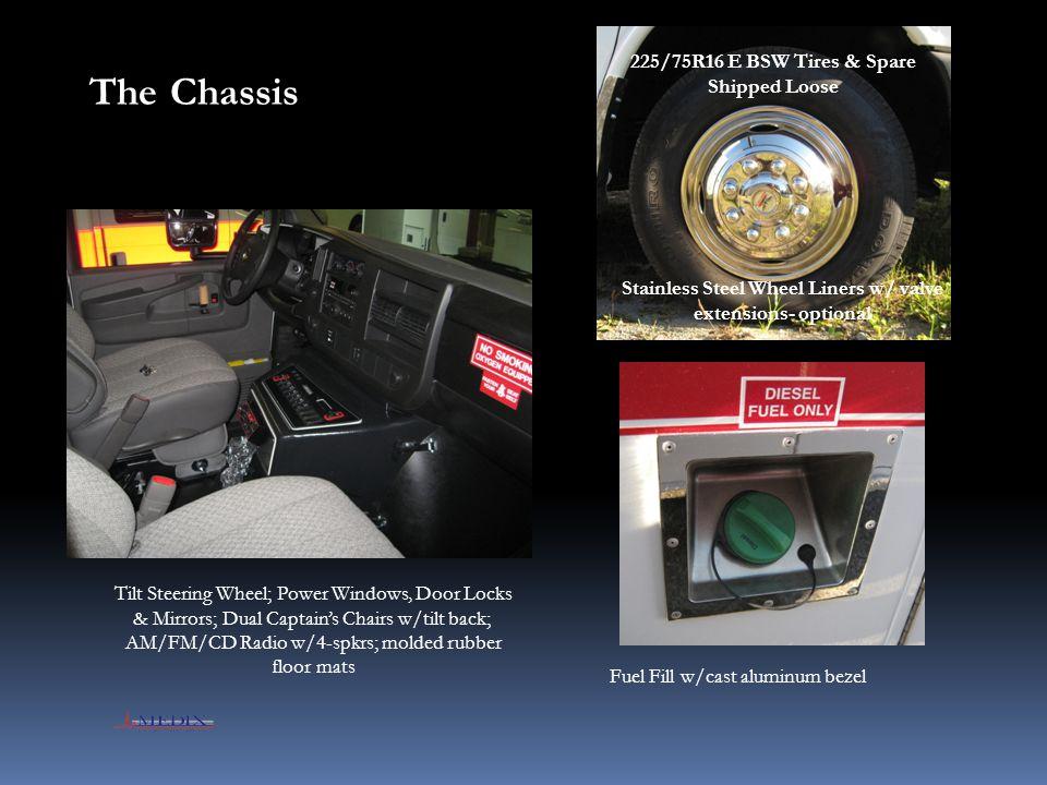 Environmental Systems HVAC Unit Output Vents & Filtered Return Air Located above Walk-Thru Powered Exhaust Vent Free-Blow HVAC System- 36K BTU Heat- 32K BTU Cool 720 CFM multi-speed fan, Thermostatic Control Fresh Air Intake
