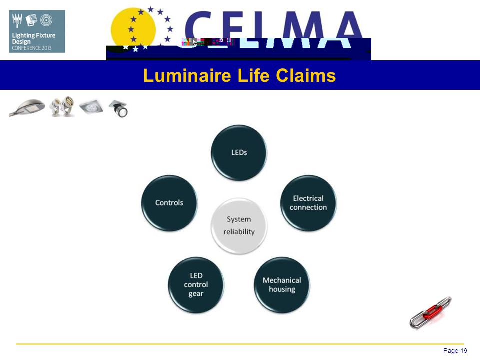 Page 19 Luminaire Life Claims
