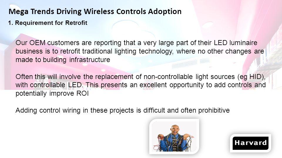 Mega Trends Driving Wireless Controls Adoption 1.