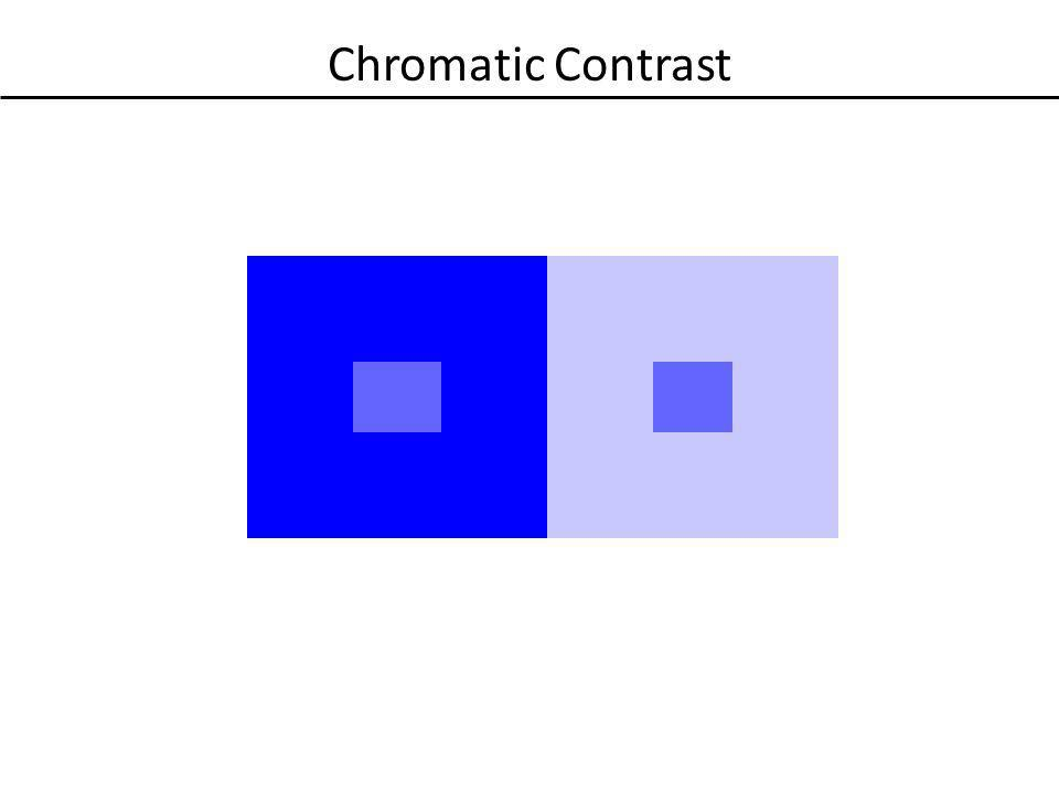 Chromatic Contrast
