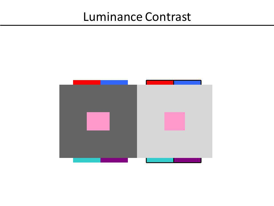 Luminance Contrast