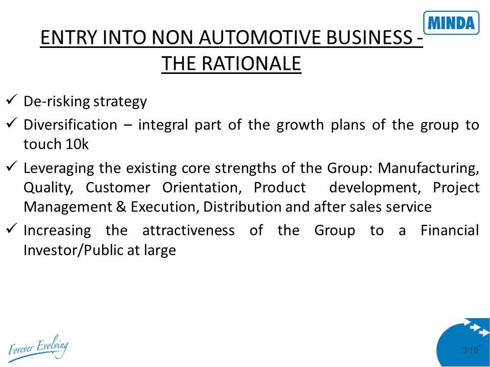 4/18 MINDA NexGenTech Limited Incorporated on April 13, 2011 Minda Industries Ltd.