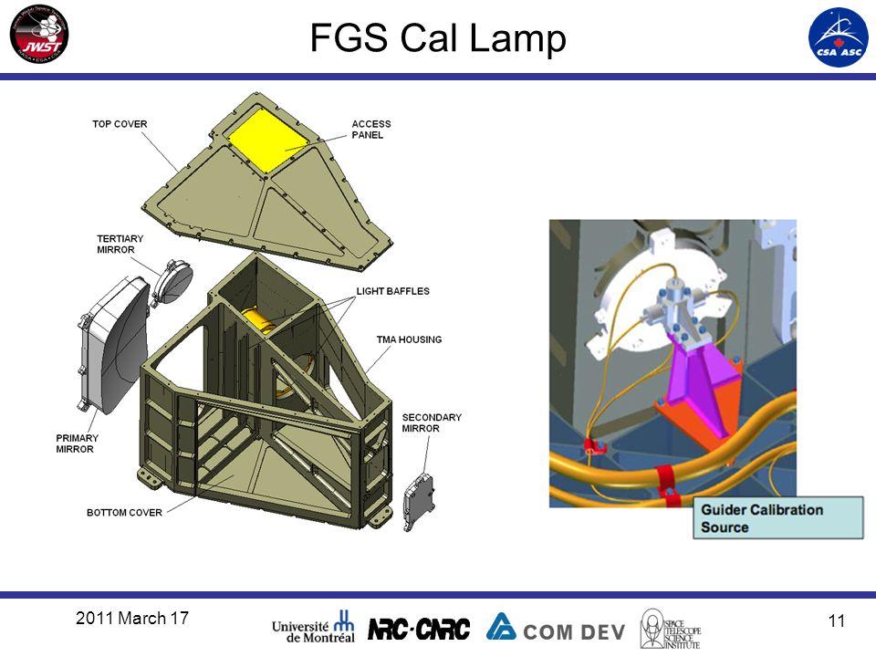 FGS Cal Lamp 2011 March 17 11