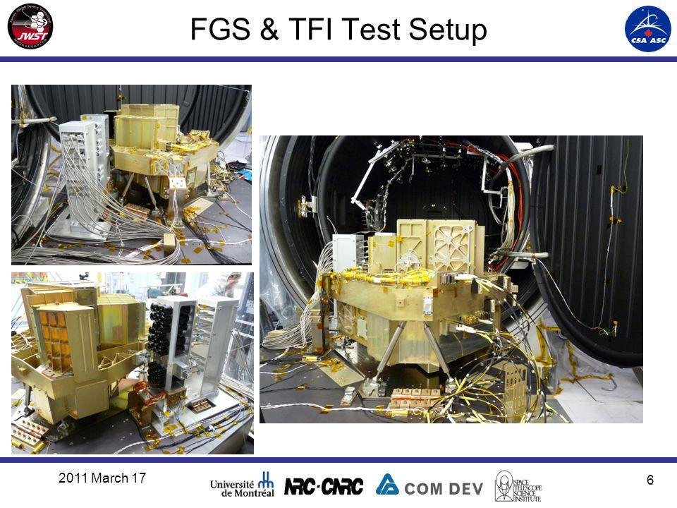 FGS & TFI Test Setup 2011 March 17 6