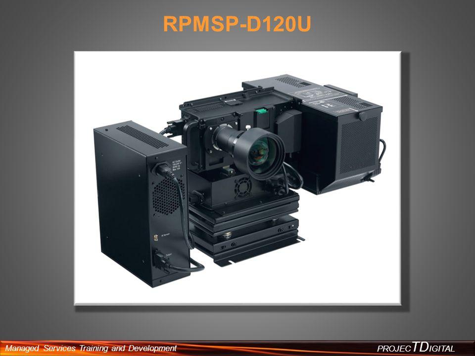 Managed Services Training and Development PROJEC TD IGITAL RPMSP-D120U