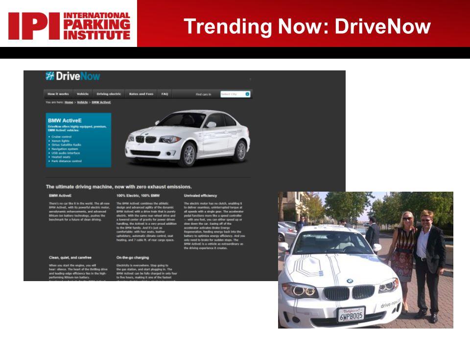 Trending Now: DriveNow