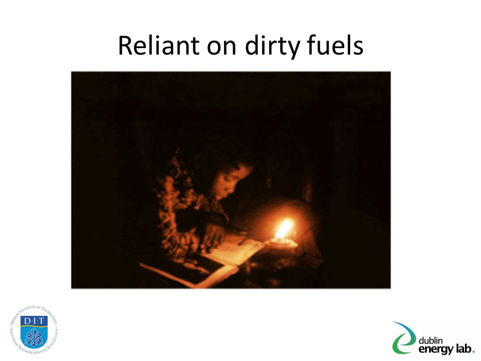 Reliant on dirty fuels