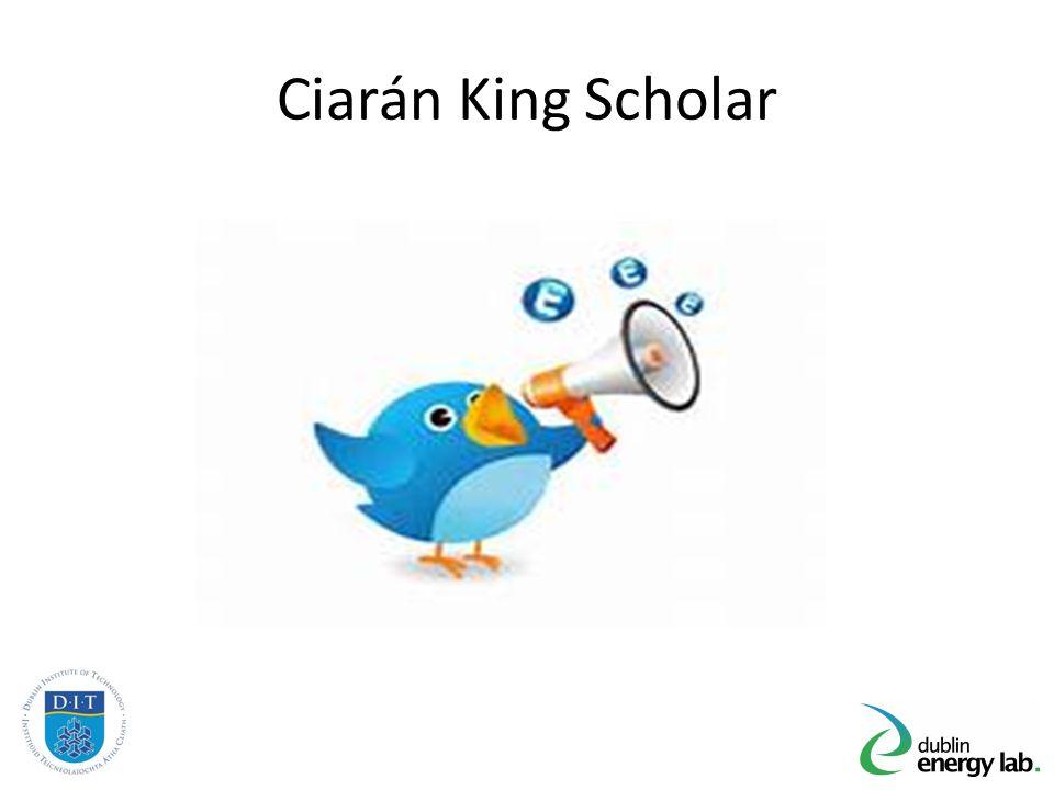 Ciarán King Scholar