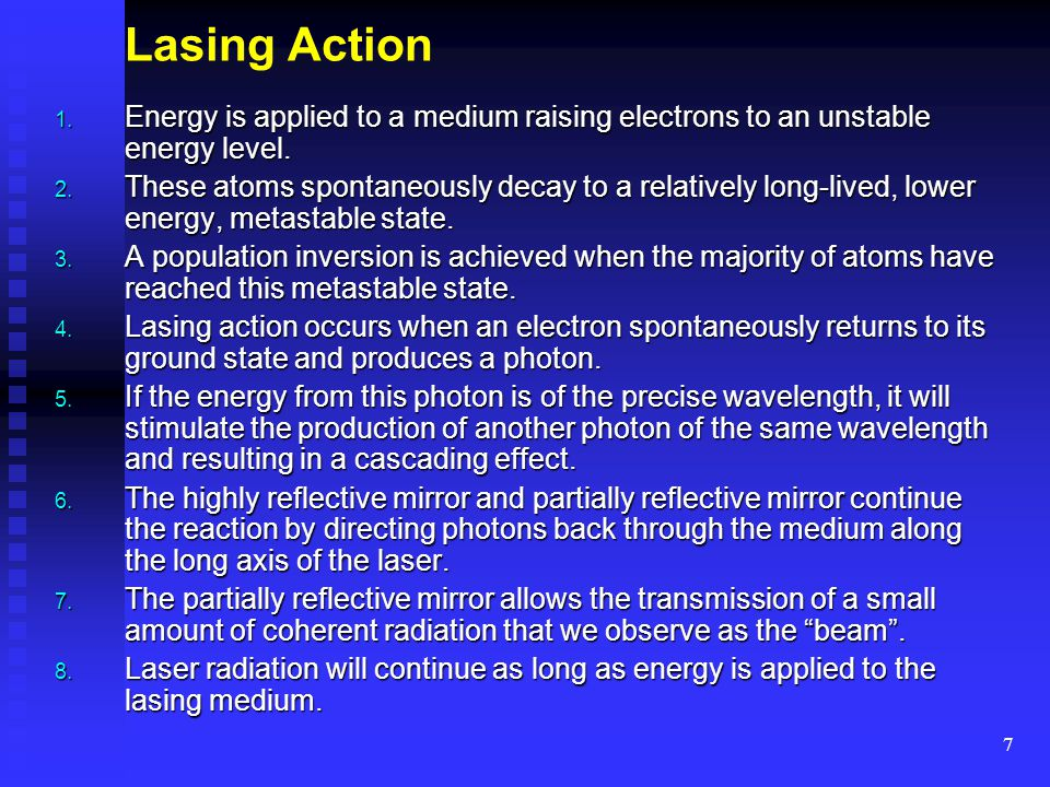 18 Part 3: Classification of Lasers and Laser Systems