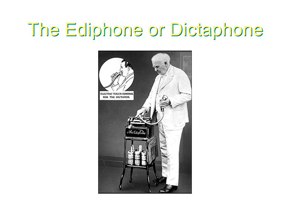 Edison Inventions helped to shape modern society More than 1,000 inventions patented Light bulb Phonograph Incandescent electric lamp Starter for automobiles that eliminated hand crank Batteries Perfected stock ticker New York City first city to powered by electricity The motion picture camera and projector First used hello as phone greeting Helped Alexander G.