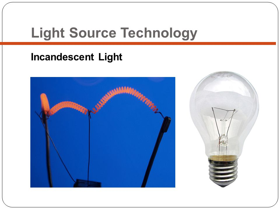 Light Source Technology Incandescent Light