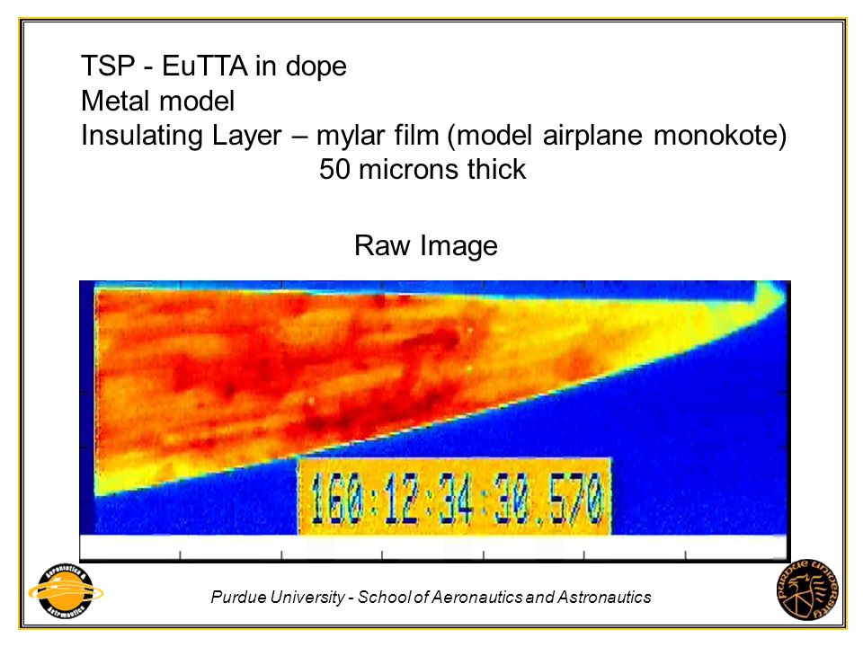 Purdue University - School of Aeronautics and Astronautics TSP - EuTTA in dope Metal model Insulating Layer – mylar film (model airplane monokote) 50
