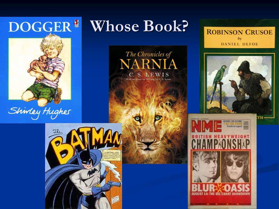 Whose Book?