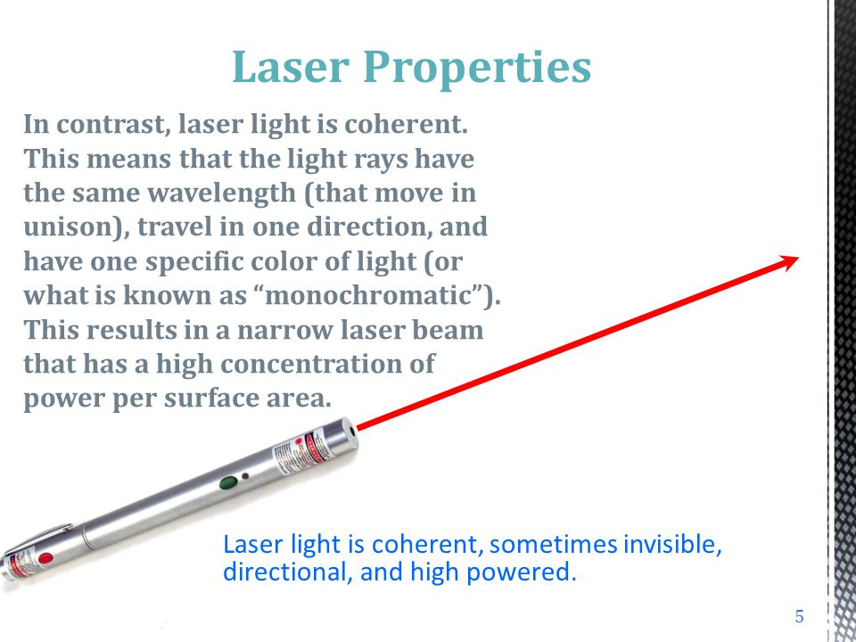 15 1/e 2 = 0.135 Average Irradiance Peak Irradiance d 1/e 2 d 1/e 1/e = 0.368 BEAM DIAMETER Laser-Professionals.com 63% 86.5% 99% Gaussian beam shape d 1/e = 2 d 1/e 2
