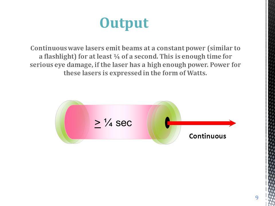 012345678012345678 100 % 10 1 0.10 0.01 0.001 0.0001 0.00001 0.000001 Optical Density (OD) Light transmission 100% transmission 10% transmission 1% transmission 59 Safety Eyewear