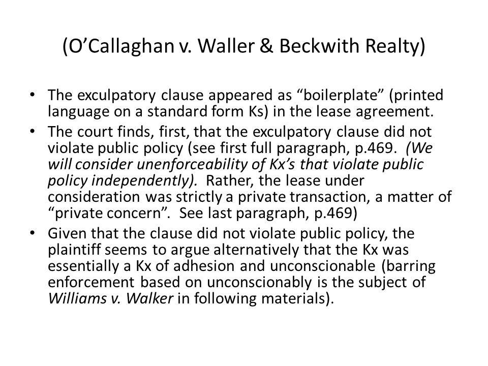 (OCallaghan v.