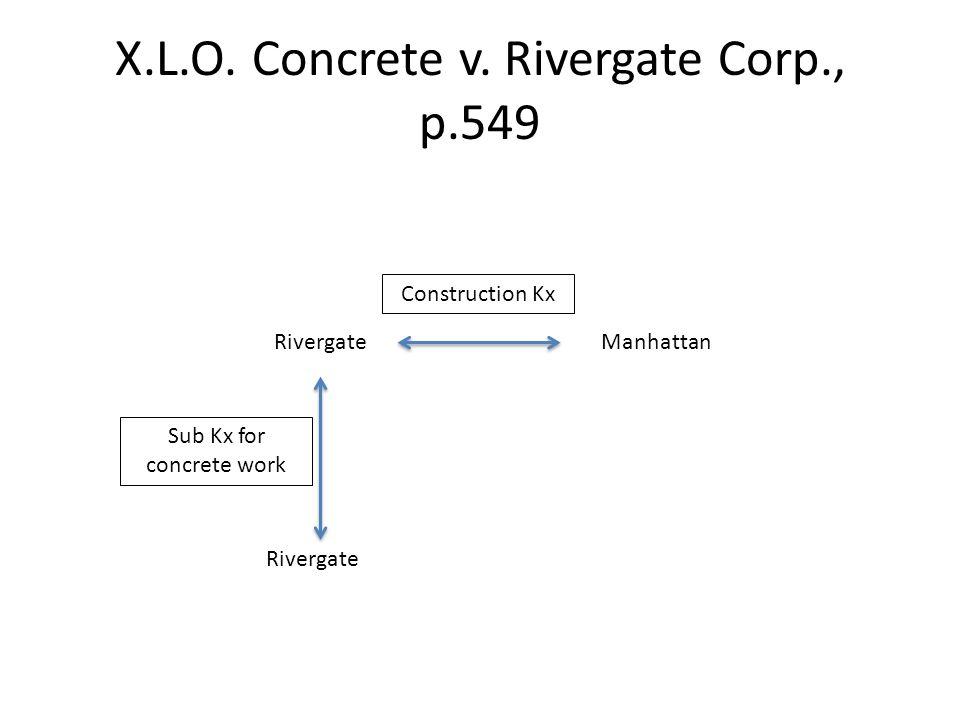X.L.O. Concrete v.