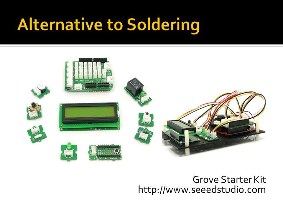 Grove Starter Kit http://www.seeedstudio.com