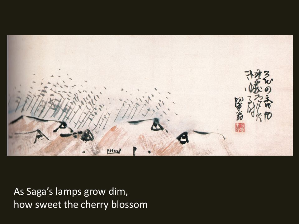 As Sagas lamps grow dim, how sweet the cherry blossom