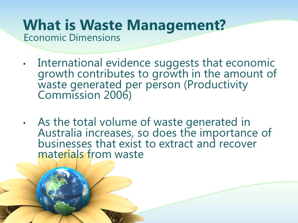 What is Waste Management.