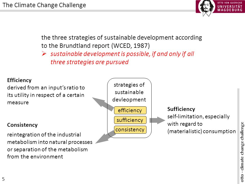 otto - climate change challenge 16 Why do we act and use technology (and produce CO2)?