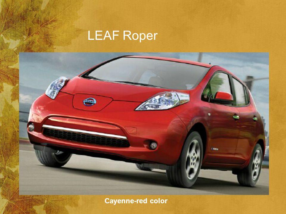 LEAF Roper Cayenne-red color