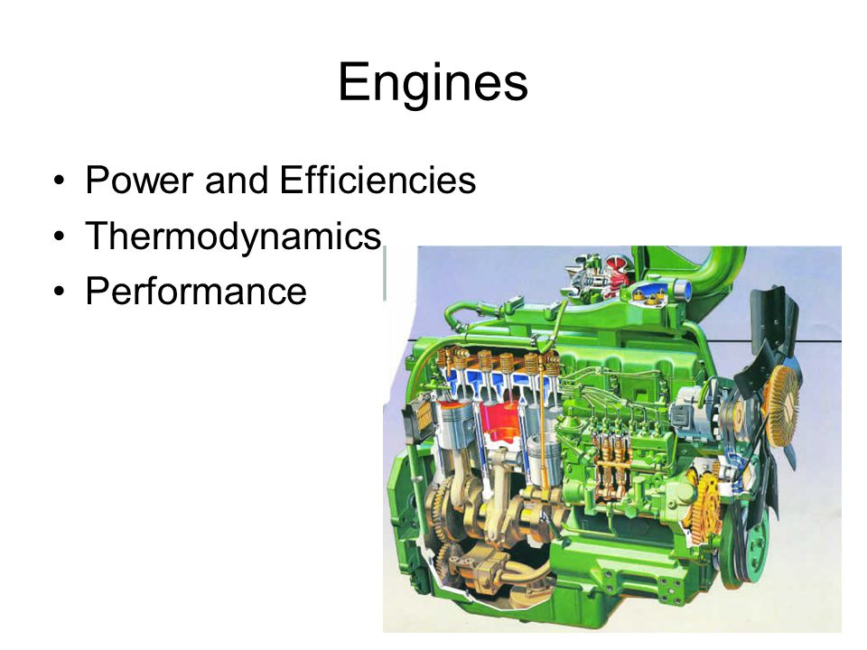 Engine Power Flows