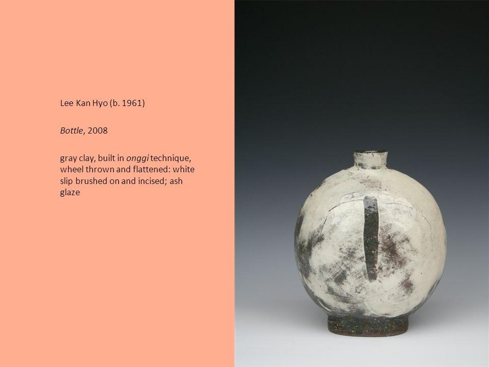 Lee Young-Jae (b. 1951) Installation of Tea Bowls, Pinakothek der Moderne, Munich, 2006