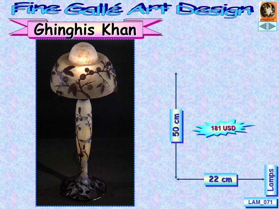 LAM_071LAM_071 LampsLamps Ghinghis Khan 50 cm 22 cm 181 USD