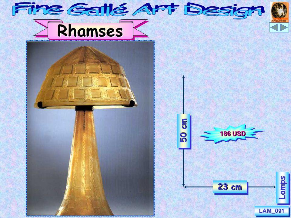 LAM_091LAM_091 50 cm 23 cm RhamsesLampsLamps 166 USD