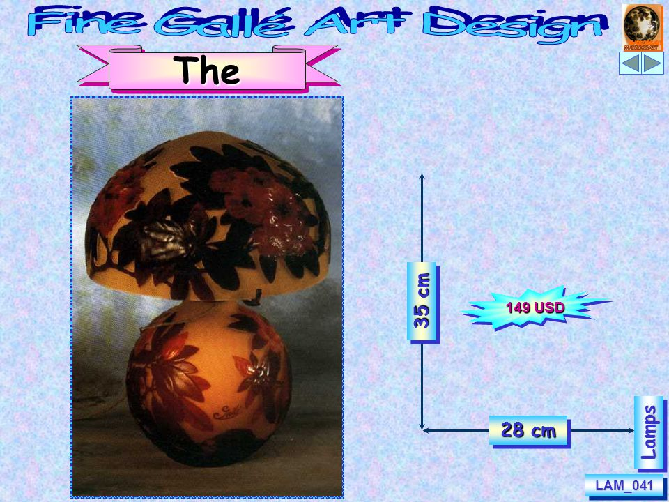 LAM_042LAM_042 50 cm 20 cm Rising Sun LampsLamps 177 USD