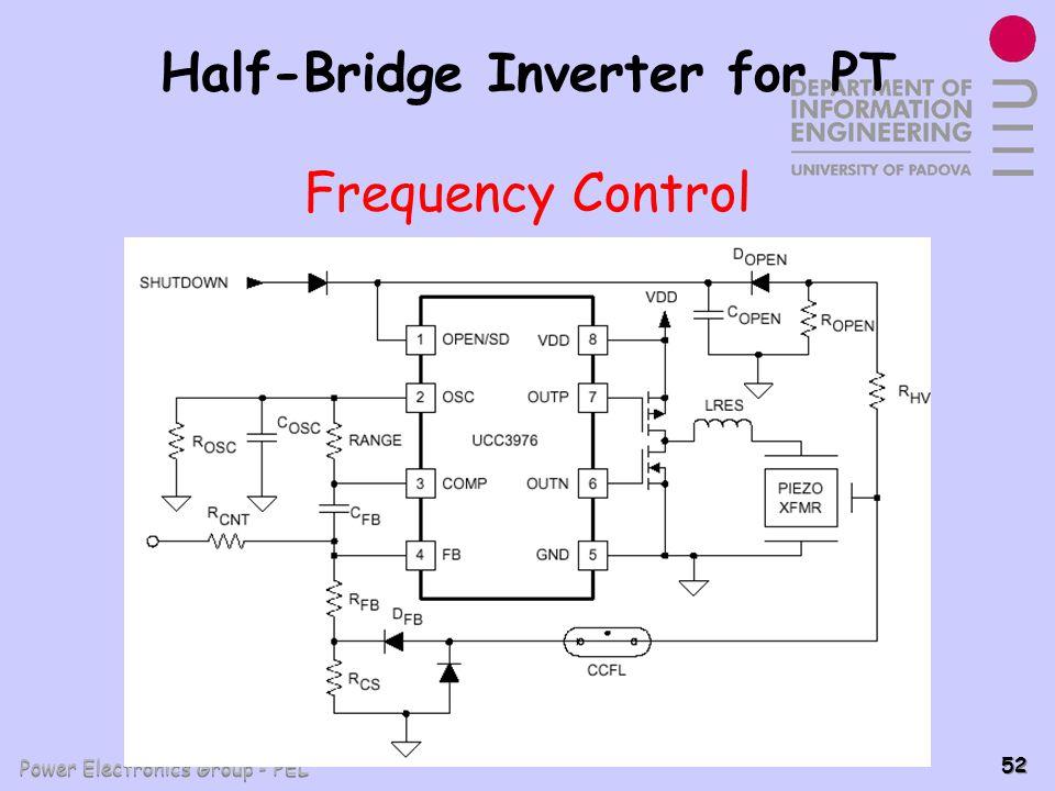 Power Electronics Group - PEL 52 Half-Bridge Inverter for PT Frequency Control