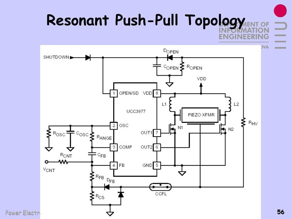 Power Electronics Group - PEL 56 Resonant Push-Pull Topology