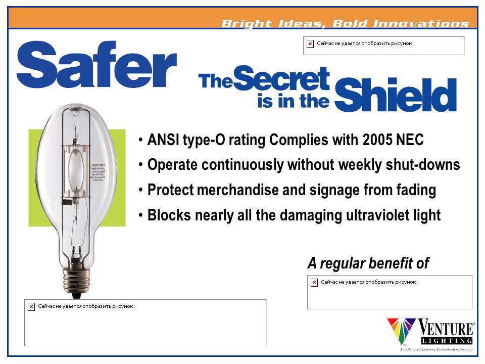 Improved lamp lumen maintenance (90%) Improved ballast efficiency Lower audible ballast noise One Call Warranty A regular benefit of