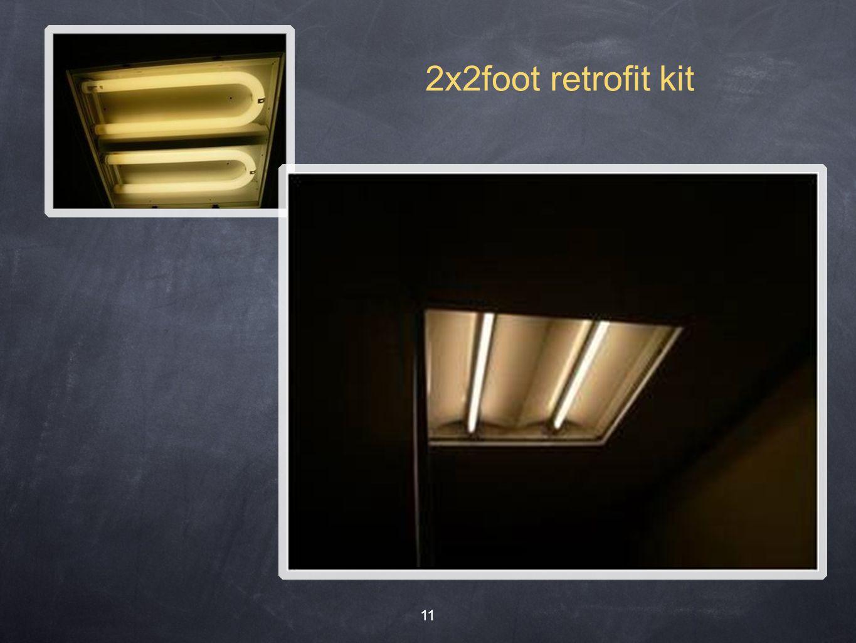 11 2x2foot retrofit kit