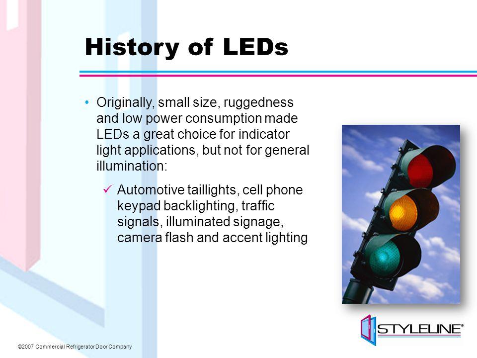 ©2007 Commercial Refrigerator Door Company High Power vs.