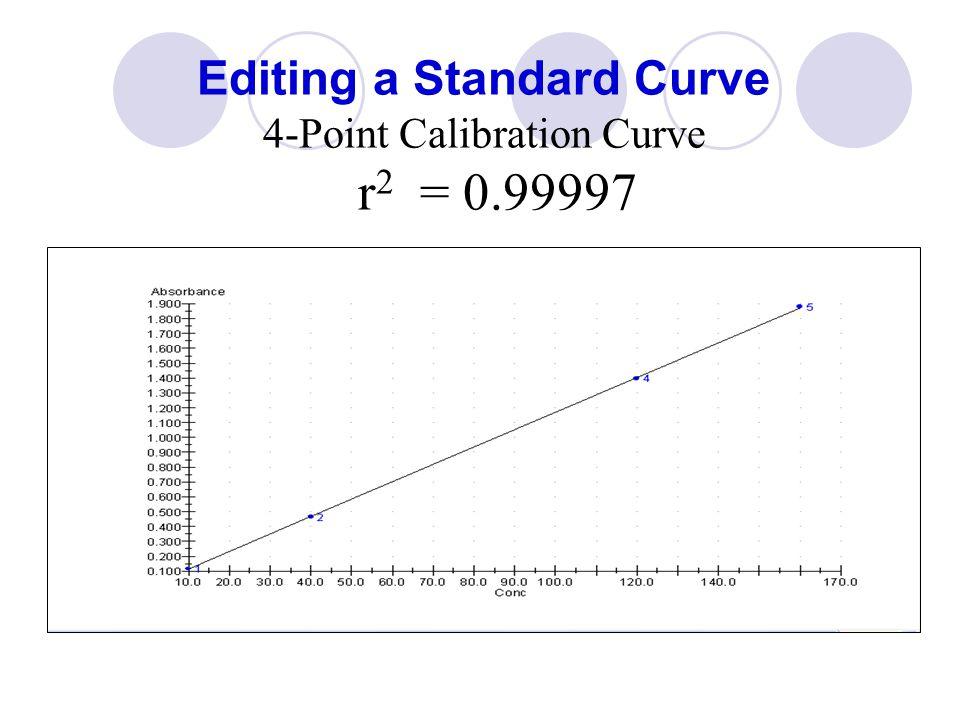 Editing: Select Calibration Points