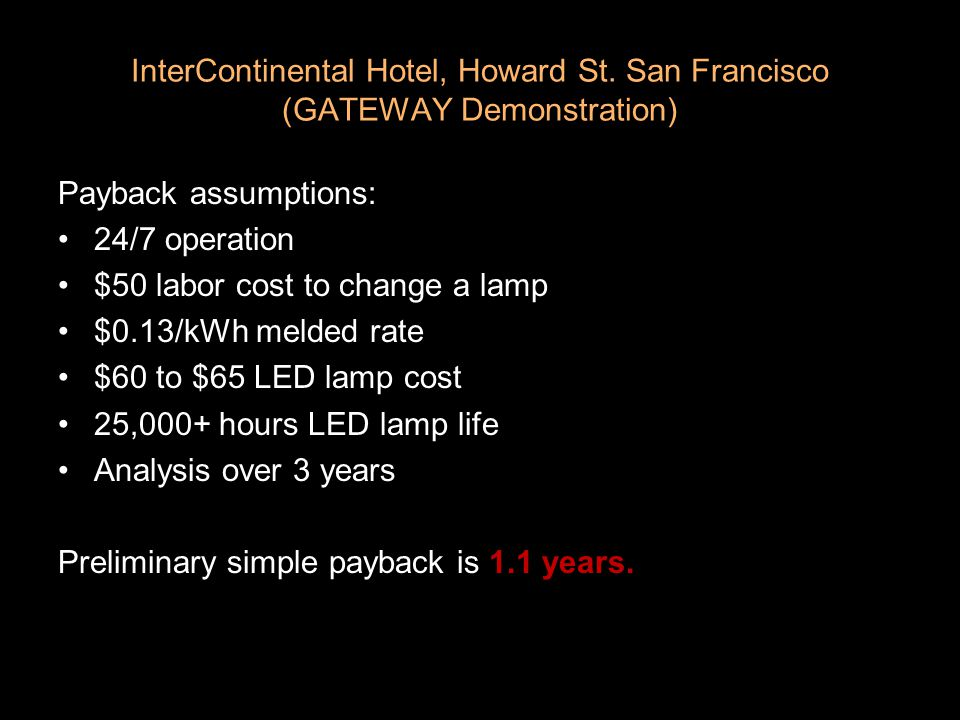 InterContinental Hotel, Howard St.