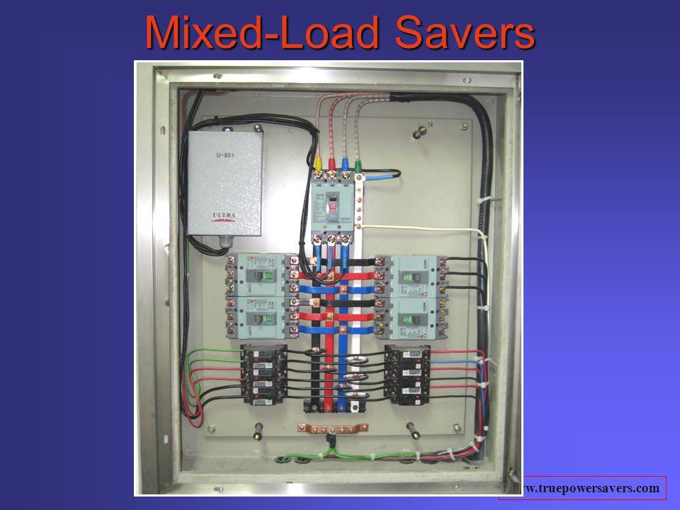 www.truepowersavers.com Mixed-Load Savers