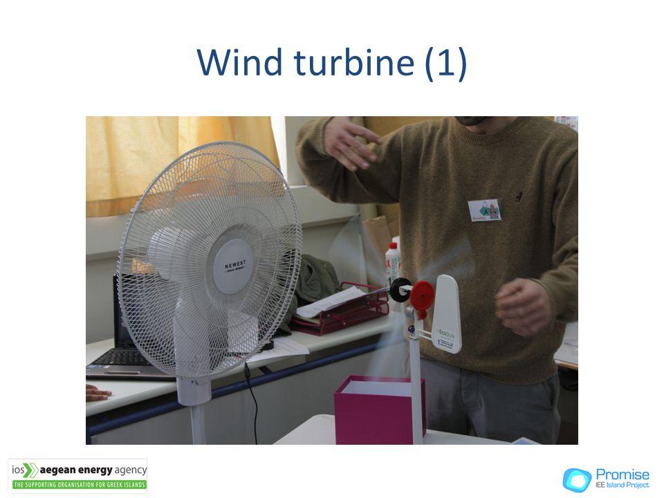 Wind turbine (1)