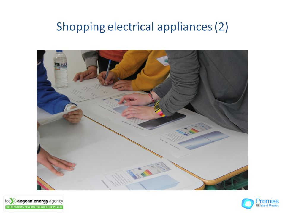 Shopping electrical appliances (2)