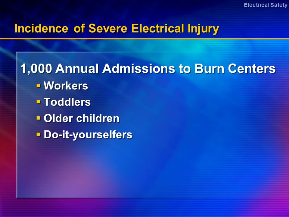 Electrical Safety Avoid Severing Outdoor Extension Cords