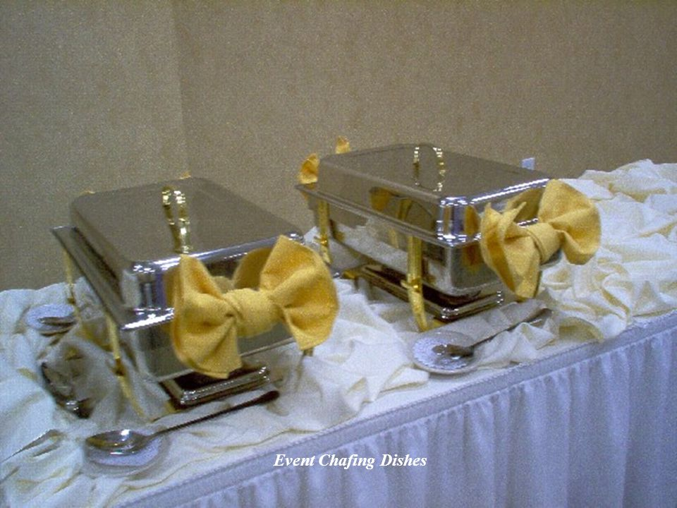 Event Chafing Dishes