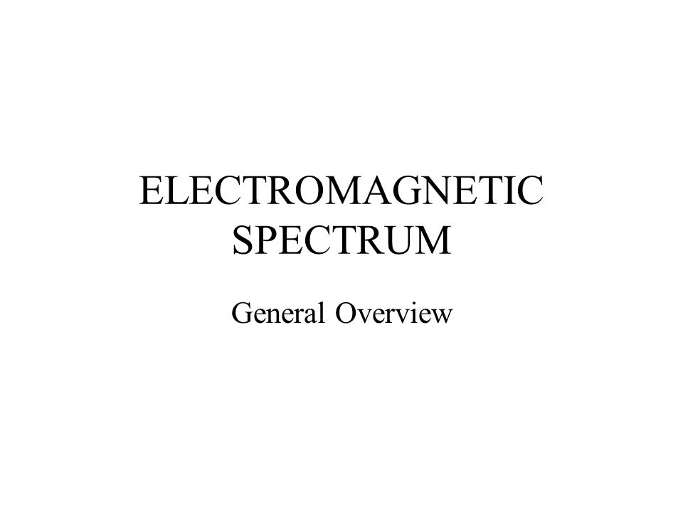 Brief SUMMARY A.All electromagnetic waves travel at the same speed.