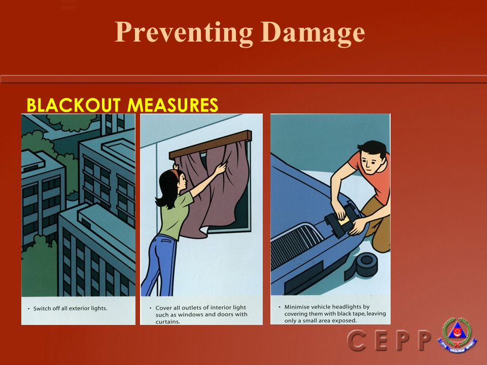 Preventing Damage Although we cannot control the use of weapons (e.g.